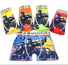 <b>Toddler Baby Boys</b> Underwear 100% Cotton <b>Cartoon</b> Batman Boxer ...