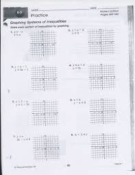 graphing linear inequalities worksheet worksheets systems of inequalities word problems solving linear equations