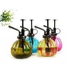 Decorative Spray Bottle Vintage Pumpkin Decorative Watering Cans Pot Spray Bottle Pressure 28