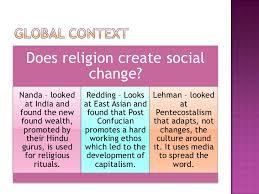 social change essay 15 weber religion promotes social change