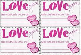 Love Coupon Template Microsoft Word Resume And Menu