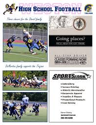 Game Day Program Examples Weston Trojans Football