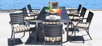 cast aluminum patio furniture dining sets mission