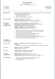 Lvn Resume Excellent Lvn Resume Sample Summer C Counselor Sle Mental Health 39