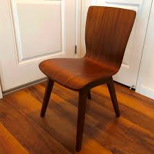 west elm crest bentwood dining chair