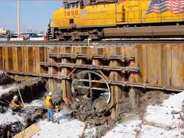 microtunneling. microtunneling boring machine / pipe jacking - bs series