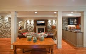 Bungalow Basement Renovation Ideas Basement In Law Suite Small Kitchenette And An Exercise Room