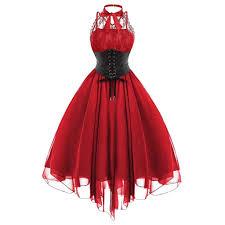 Twgone Goth Clothing For Women Dress Gothic Wedding Dress