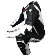 <b>1 Pc</b> Perrini White and <b>Black</b> Genuine Cow Leather <b>Motorbike</b> ...