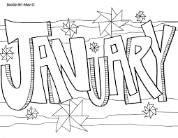 Click the peppy in january coloring pages to view printable version or color it online (compatible with ipad and android tablets). Months Of The Year Coloring Pages Classroom Doodles