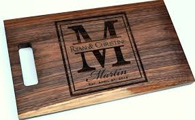 cutting board personalized cutting board laser engraved 8 14