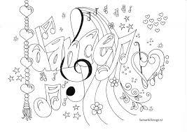 Kleurplaat Voor Volwassenen Dance Doodle Kleurplaten Voor