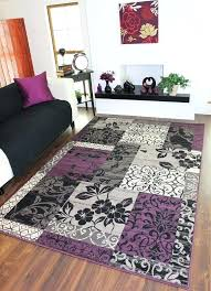 purple and white area rugs grey rug thelittlelittle in design 3