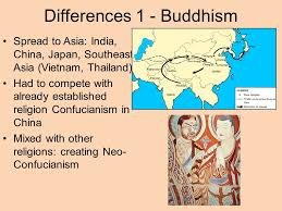 comparative essay diffusion of buddhism christianity and islam  differences 1 buddhism