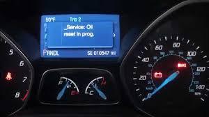 2016 Ford Focus Oil Change Light 2014 Ford Focus Oil Reset