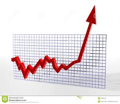 Stock Chart Up Chart On The Up Stock Illustration Illustration Of Figures