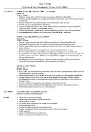 Icu Nurse Resume Template Format Cover Letter Sample Examples