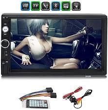 <b>Car MP5</b> Player,2 Din 12V bluetooth <b>Touch Screen</b> Stereo: Amazon ...