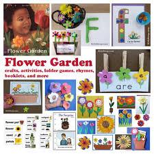flower garden crafts activities lessons for preschool and kindergarten