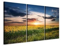 Leinwandbilder Sonnenblumen Günstig Online Kaufen