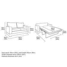 modern sofa bed with pocket sprung