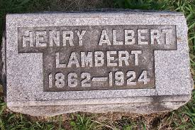 Judge Henry Albert Lambert Obituary, 1924 | curtbrightfamily