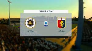⚽ Spezia vs Genoa ⚽ | Serie A (23/12/2020)