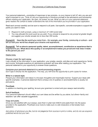 Example Essay Prompts The University Of California Essay Prompts For 2008