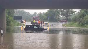 شاهد: الأمطار الغزيرة تتسبب في فيضانات كبيرة في غرب ولاية سكسونيا الألمانية