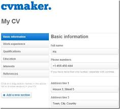 Write A Free Cv Build My Resume Online Free As Free Online Resume
