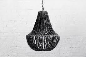 klaylife beaded chandeliers lim black beaded chandelier b42