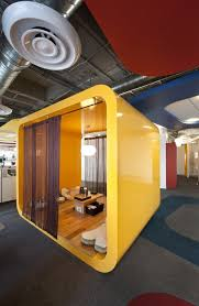 where is google office. Fine Google Phone Booths Ping Pong Tables Huddle Lounges Shower And The Cafeteria  Set Together Image Of A Plaza Inside Office Where Most Work Is Done  Intended Google Office