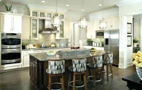 full size of lighting ideas for kitchen table how high chandelier over round modern island most