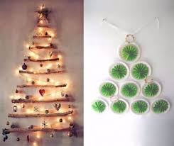 Christmas Decoration Design 100 Cool Wall Christmas Tree Ideas For Your Home 63