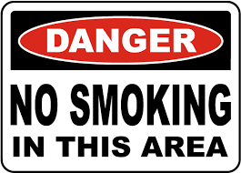 No Smoking Signage Danger No Smoking In This Area Sign J2462 By Safetysign Com