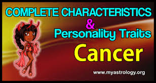 Image result for CANCER TRAITS