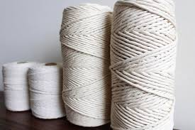 Macrame Cotton Rope, Cotton String, Macrame Cord, Macrame Twine, Craft  String, Cotton Cord, DIY macrame 1.5MM, 2MM, 3MM, 5MM thick