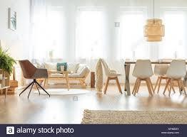 Vintage Sessel Und Das Sofa In Der Multifunktionalen