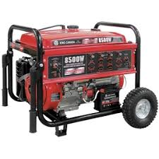 electric generator. Gasoline Generator With Electric Start