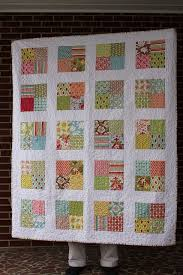 42 best Quilting... Layer Cake patterns images on Pinterest | Kid ... & Simple charm block quilt by Frecklemama, uses 2 packs. Adamdwight.com