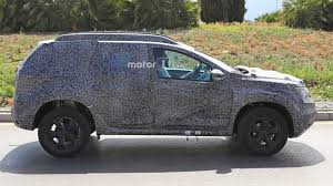 2018 renault duster specs. delighful 2018 2018 dacia duster spy photo  with renault duster specs