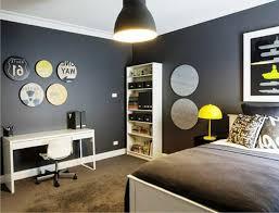 simple teen boy bedroom ideas. Simple Pendant Lighting For Elegant Teen Boy Bedroom Ideas With White Desk And Chair Plus Bookshelves On Brown Shag Rugs D