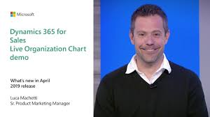 Live Org Chart Dynamics 365 For Sales Live Organization Chart Demo Business Applications April 2019 Release