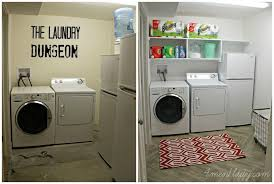 unfinished basement laundry room makeover. Laundry Room Makeover And Start Clean In \u002714 - 4 Men 1 Lady · Unfinished  Basement Unfinished Basement Laundry Room Makeover G