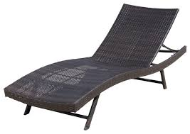 outdoor chaise lounge chairs with wheels. eliana outdoor wicker chaise lounge chair, single, brown contemporary- outdoor-chaise- chairs with wheels .
