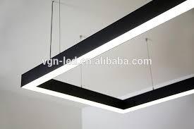 linear suspended lighting. plain linear suspension light recessed and pendent 27006500k 22w 120cm vapor  tight fixturesled and linear suspended lighting e