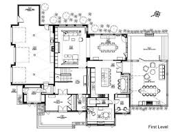 modern floor plans. Brilliant Contemporary House Plans Floor Plan Maison Du Bois Gestion Ren Desjardins Home Modern