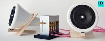 joey roth ceramic speakers photo setup