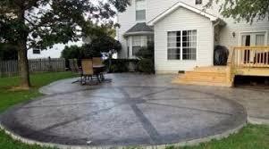 simple patio ideas on a budget. Splendid-inexpensive-concrete-patio-ideas-inexpensive-patio-designs- Simple Patio Ideas On A Budget