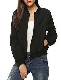 Women's Quilted Lightweight Jackets - Zeagoo Womens Classic ... & Women's Quilted Lightweight Jackets - Zeagoo Womens Classic Quilted Jacket  Short Bomber Jacket Coat ** Adamdwight.com
